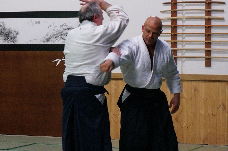 Training with Sensei – Kaiten-nage