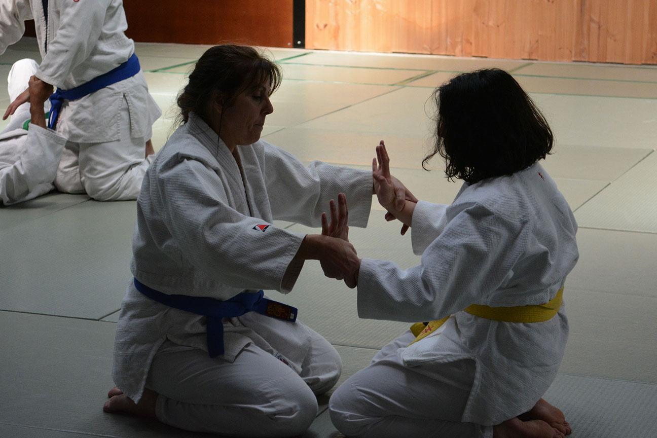 Pair Practice – Kokyu-Ho