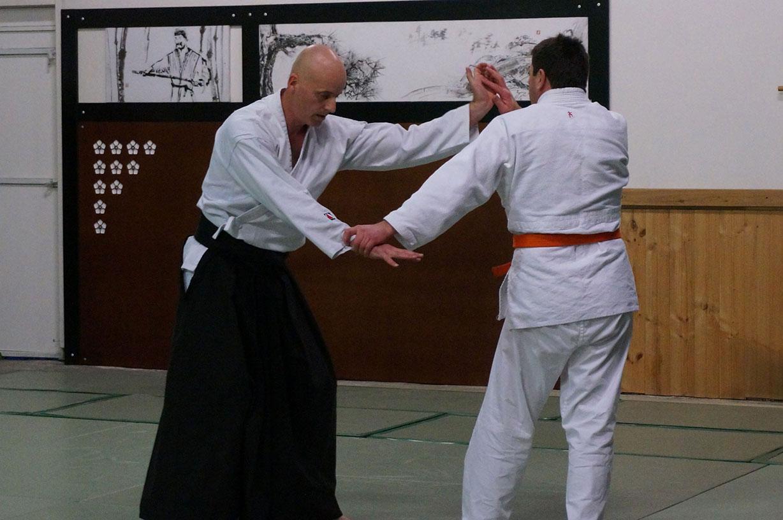 Pair Practice – Katate-Tori
